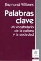 Palabras clave: un vocabulario de la cultura y la sociedad