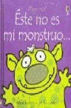 Este no es mi monstruoed. disponible: 9781409529866 (Toca, Toca!)