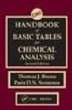 Handbook of Basic Tables for Chemical Analysis, Second Edition
