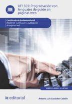 Programación Con Lenguajes De Guión En Páginas Web. IFCD0110