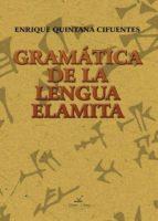 Gramática de la Lengua Elamita: PUB0253230