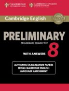 cambridge english preliminary 8 student s book with answers-9781107632233