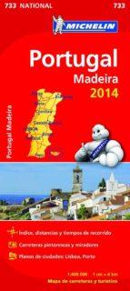 mapa national portugal 2014 (ref. 11733) 9782067191433