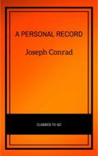 a personal record (ebook)-joseph conrad-9782291008033