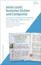 jonas losch, teutscher dichter und componist (ebook)-9783791770833