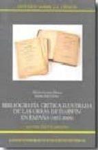 bibliografía crítica ilustrada de las obras de darwin en españa (1857-2008) (ebook)-alberto gomis blanco-9788400088408