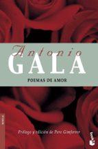 poemas de amor-antonio gala-9788408072133