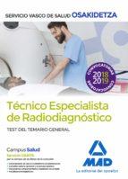 tecnicos especialistas de radiodiagnostico del servicio vasco de salud-osakidetz: test temario general-9788414216033