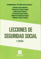 lecciones de seguridad social mª belen garcia romero 9788416165933