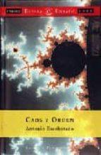 caos y orden (12ª ed.)-antonio escohotado-9788423997633