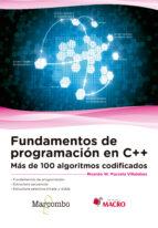 fundamentos de programación en c++ ricardo walter marcelo villalobos 9788426724533