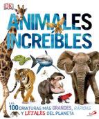animales increibles 9788428551533