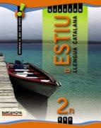 quadern d estiu 2 eso. llengua catalana-9788448925833