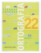 quadern ortografia catalana 22 (2006)  6º primaria-9788466112833