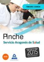 Pinche de Servicio Aragonés de Salud (SALUD-Aragón). Temario común.