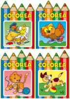 El libro de Colorea (4 t�tulos) autor DESCONOCIDO DOC!