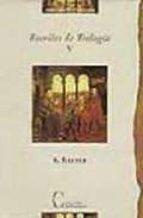 escritos de teologia (t. v)-karl rahner-9788470574733