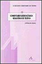 comentario lexicologico-semantico de textos-j.mª becerra hiraldo-9788476354933