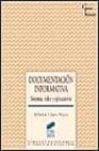documentacion informativa: sistemas, redes y aplicaciones-alfonso lopez yepes-9788477385233