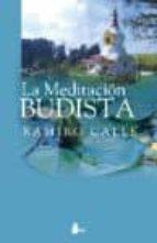 la meditacion budista ramiro calle 9788478086733