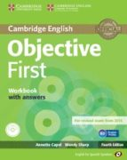 objective first for spanish speakers workbook with answers with audio cd 4th edition-9788483236833