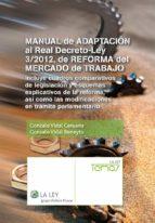 manual de adaptación al real decreto-ley 3/2012, de reforma del mercado de trabajo (ebook)-9788490200933