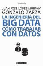 la ingenieria del big data: como trabajar con datos juan josé zarza, gonzalo lópez murphy 9788491800033