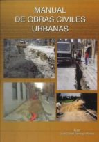 manual de obras civiles urbanas juan carlos domingo pinillos 9788493047733