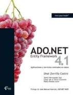 ADO.NET Entity Framework 4.1 - Aplicaciones y servicios centrados en datos