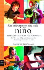 un instrumento para cada niño: sepa como elegir el mas adecuado: un libro muy util para iniciar y desarrollar el aprendizaje musical en los niños laure beauvillard 9788496222533