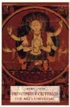 principios y criterios del arte universal pad frithjof schuon 9788497165433