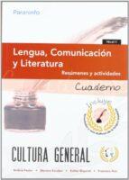 cuaderno de trabajo lengua, comunicacion y literatura. nivel ii-andrea pastor-dionisio escobar-9788497329033