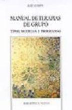 manual de terapias de grupo: tipos, modelos y programas-jose guimon-9788497421133