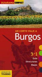 un corto viaje a burgos 2017 (guiarama compact) pascual izquierdo 9788499359533