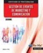mf2187_3 gestion de eventos de marketing y comunicacion-daniel garcia rico-9788499645933
