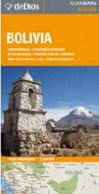 bolivia, mapa de carreteras plastificado: escala: 1:2.500.000 9789871551033