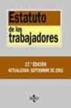 ESTATUTO DE LOS TRABAJADORES (17ª ED. 2003)
