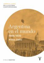 Argentina en el mundo (1808-1830)
