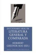DICCIONARIO AKAL DE LITERATURA GENERAL Y COMPARADA
