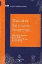 MANUAL DE ESTADISTICA DESCRIPTIVA + CD-ROM