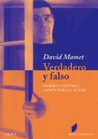 VERDADERO Y FALSO (EBOOK)