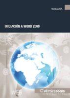 INICIACION A WORD 2000
