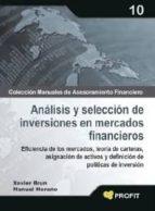 ANÁLISIS Y SELECCIÓN DE INVERSIONES EN MERCADOS FINANCIEROS (EBOOK)