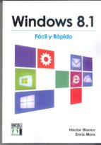 WINDOWS 8,1 FACIL Y RAPIDO