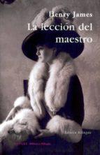 LA LECCION DEL MAESTRO. THE LESSON OF THE MASTER (1888)