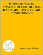 Thermodynamic and economic analysis of geothermal heat pumps for civil air-conditioning