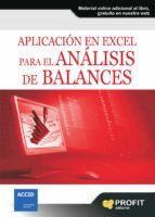 APLICACIÓN EN EXCEL PARA EL ANÁLISIS DE BALANCES 2ª ED. (EBOOK)