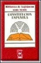 CONSTITUCION ESPAÑOLA (2ª ED.)