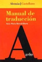 MANUAL DE TRADUCCION ALEMAN-CASTELLANO
