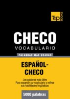 VOCABULARIO ESPAÑOL-CHECO - 5000 PALABRAS MÁS USADAS (EBOOK)
